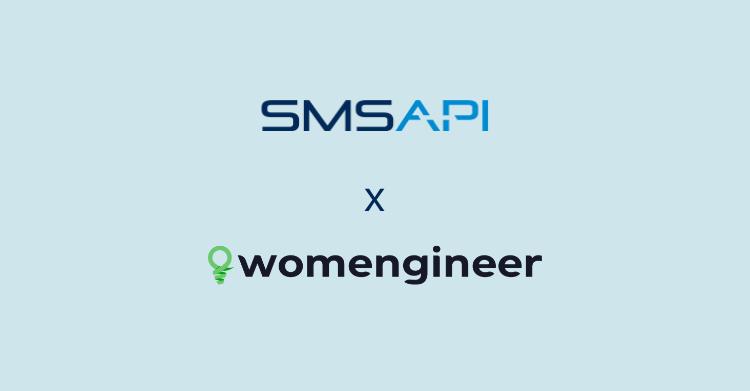 SMSAPI - Womengineer väljer SMSAPI som SMS-leverantör