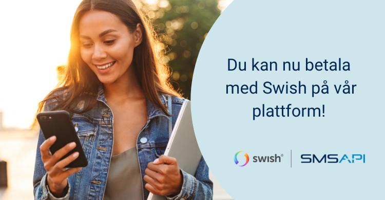 SMSAPI - nu kan du betala med Swish